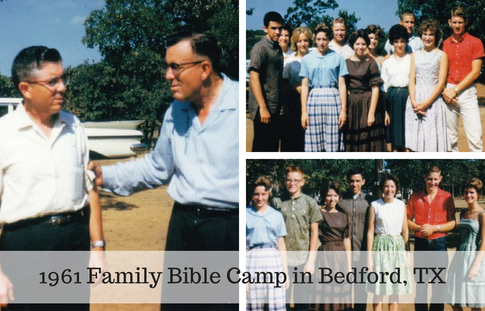 1961 Family Bible Camp in Bedford, TX
