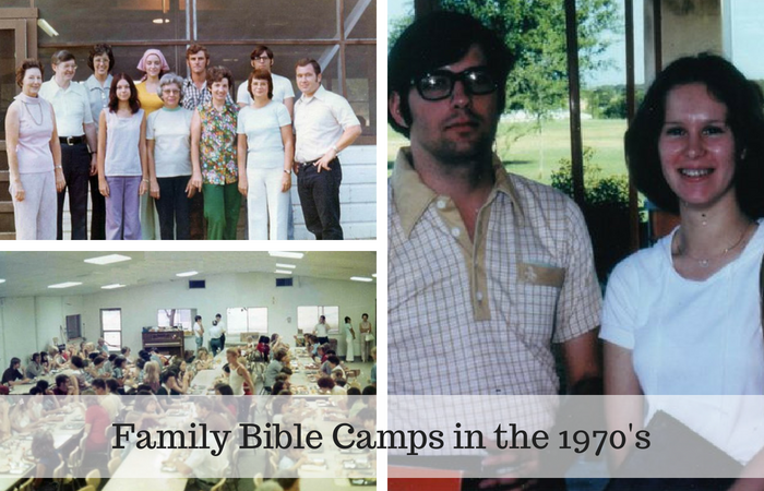 Family Bible Camps in the 1970s